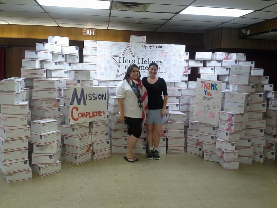Heartillery Group and Hero Helpers partner to create over 600 care packages for active soldiers