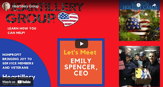 Let's Meet Emily Spencer, CEO of Heartillery Group to Learn How You Can Help in Ponte Vedra FL (VIDEO)